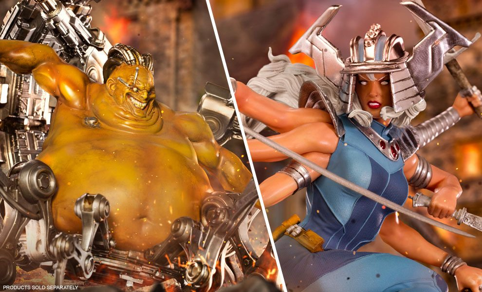 NEW Marvel Collectibles by Iron Studios