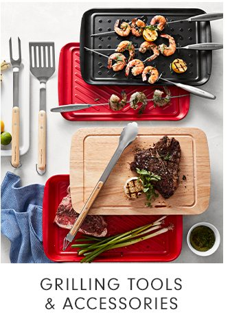 GRILLING TOOLS & ACCESSORIES