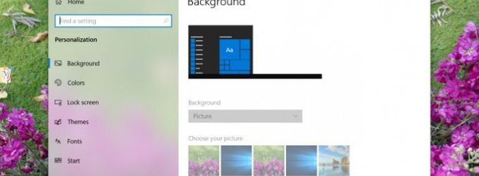 How to Really Lock the Desktop Background in Windows 10