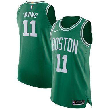 Nike Kyrie Irving Boston Celtics Kelly Green Authentic Player Jersey - Icon Edition
