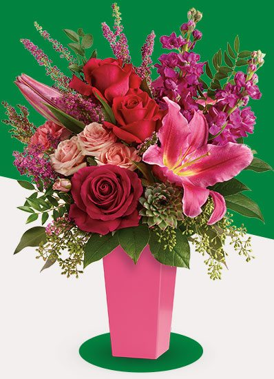 Forever Fuchsia Bouquet