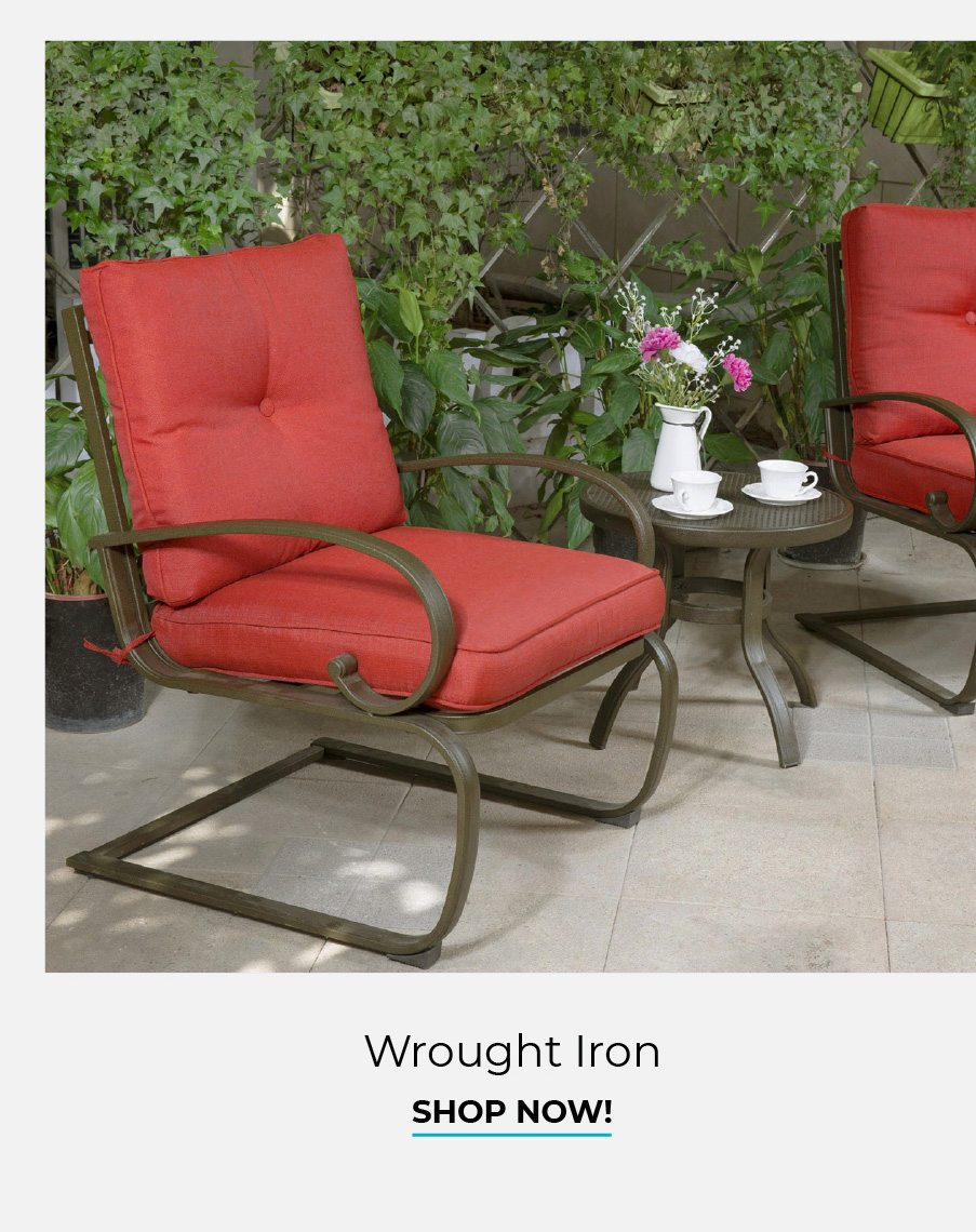 Wrought Iron | Shop Now!