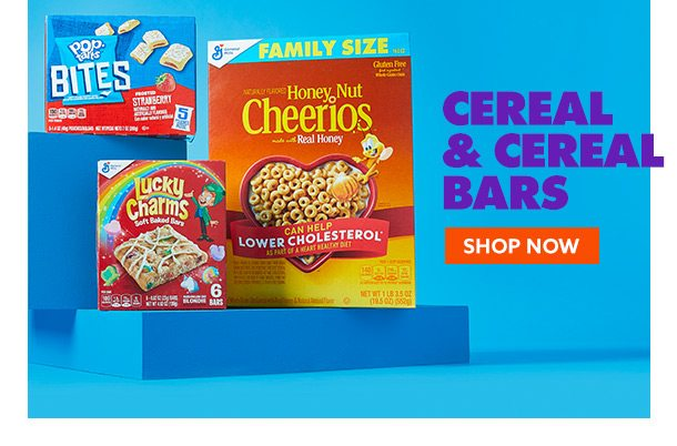Cereal & Cereal Bars