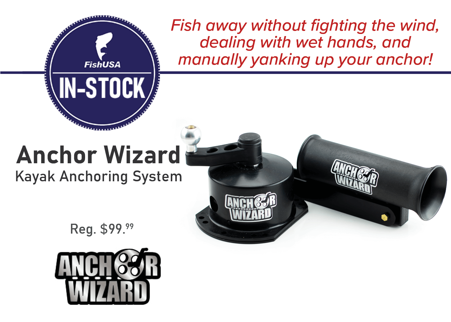 Anchor Wizard Kayak Anchoring System