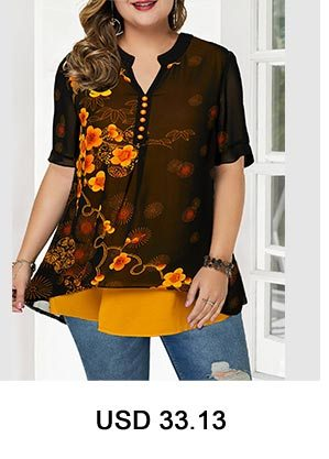 Dazzle Color Short Sleeve Button Front Blouse