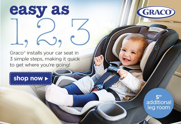 Easy As 1 2 3 GracoR Installs Your Car Seat In Simple