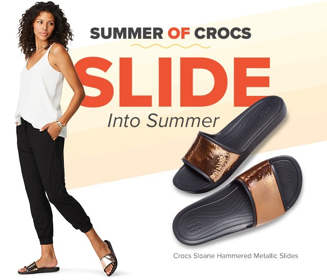 5c2e8172654c2c Slide into summer with Crocs ☀ - Crocs Email Archive