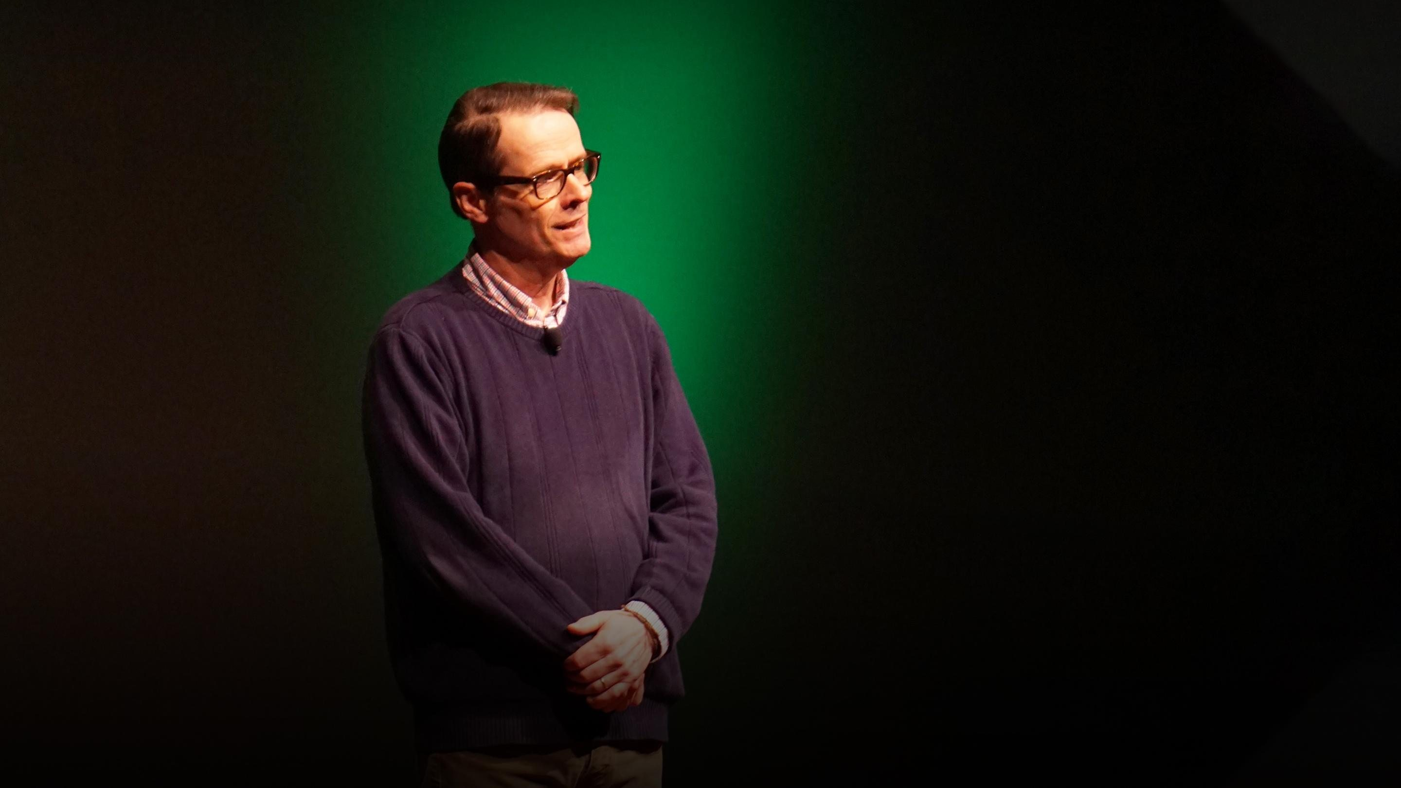 An idea from TED by Greg Anderson entitled Why there's no such thing as objective reality