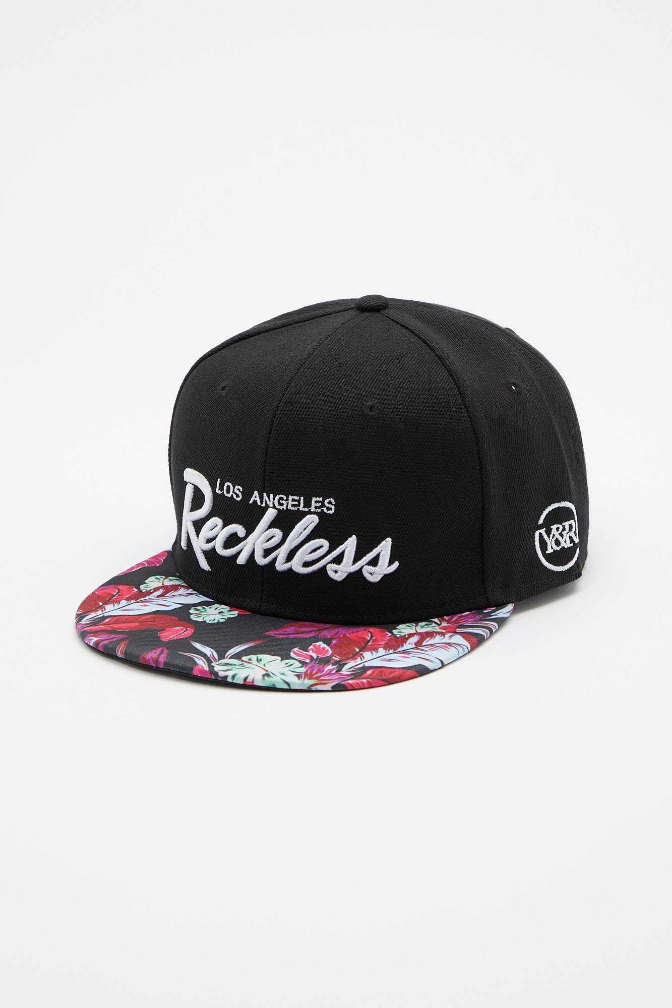Image of Young & Reckless Mens Neon Floral Hat