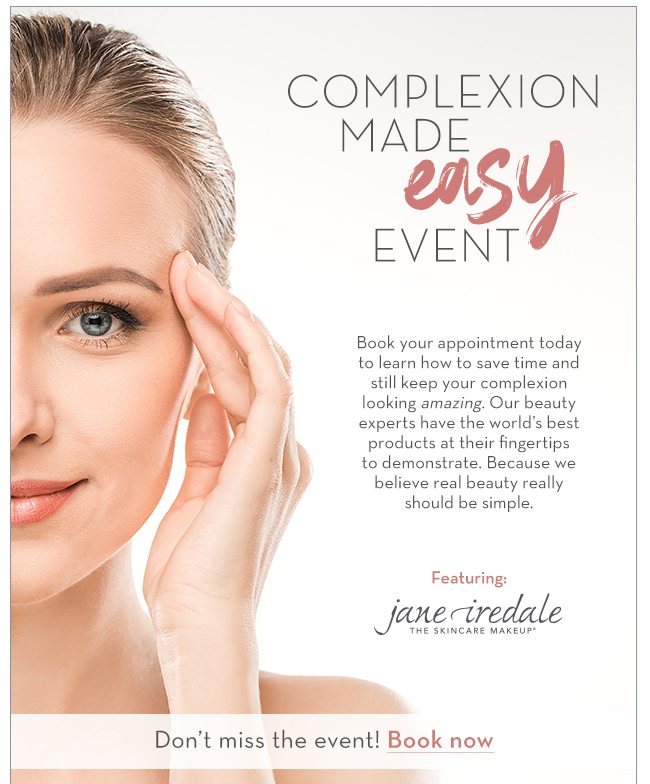 iredale beauty event