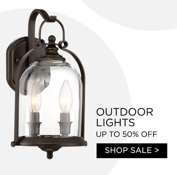 Outdoor Lights - Up To 50% Off - Shop Sale >
