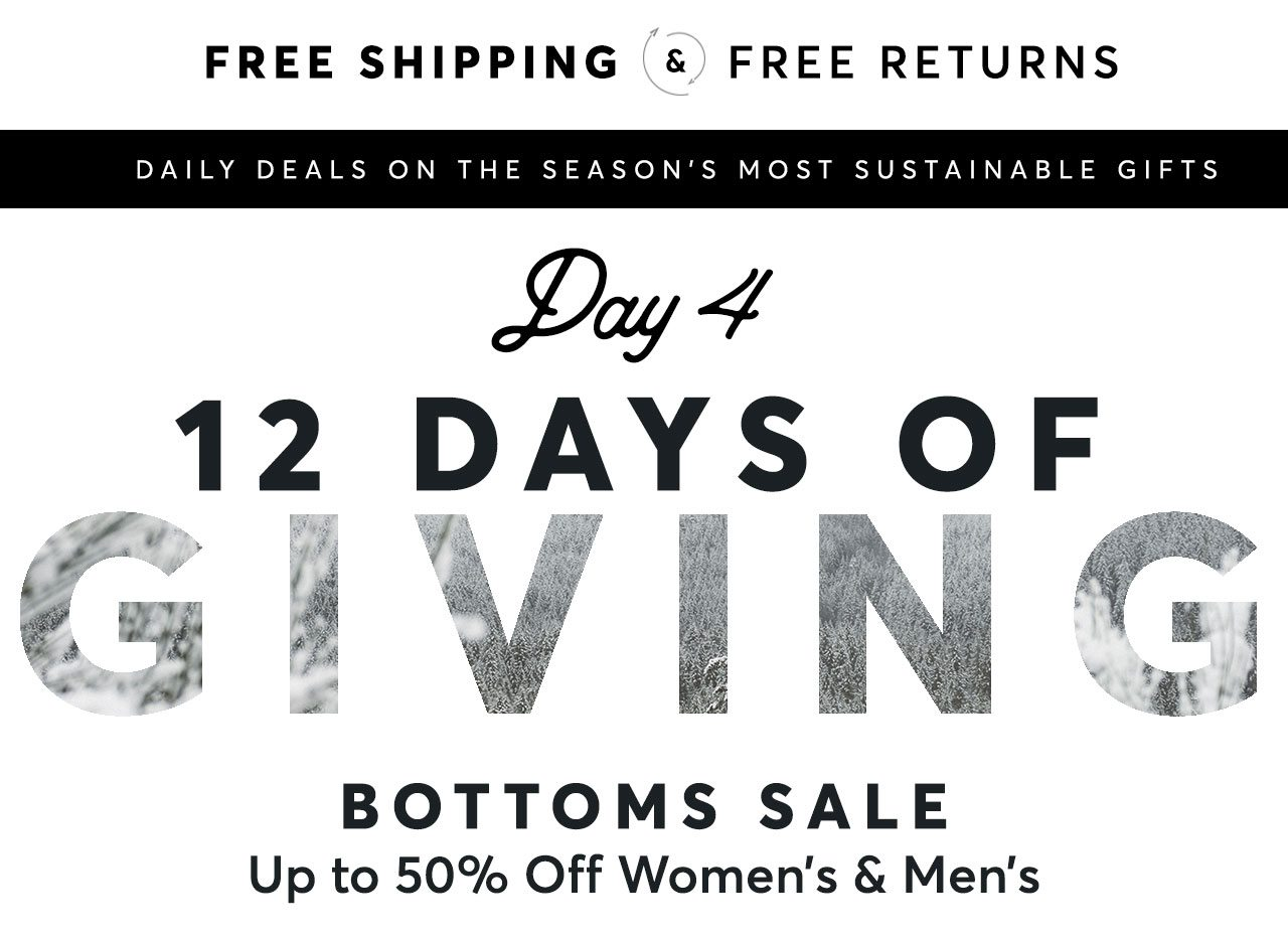 Bottoms Sale - Up to 50% off!