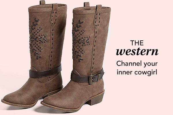 The western: channel your inner cowgirl.