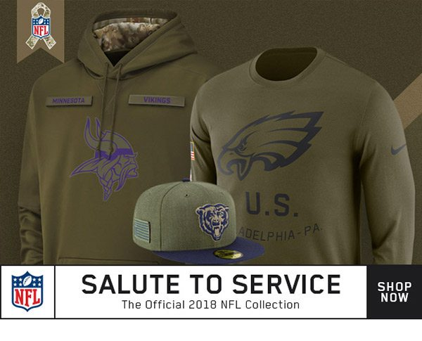 premium selection 53739 59a95 2018 NFL Salute To Service Apparel Is HERE. - FansEdge Email ...