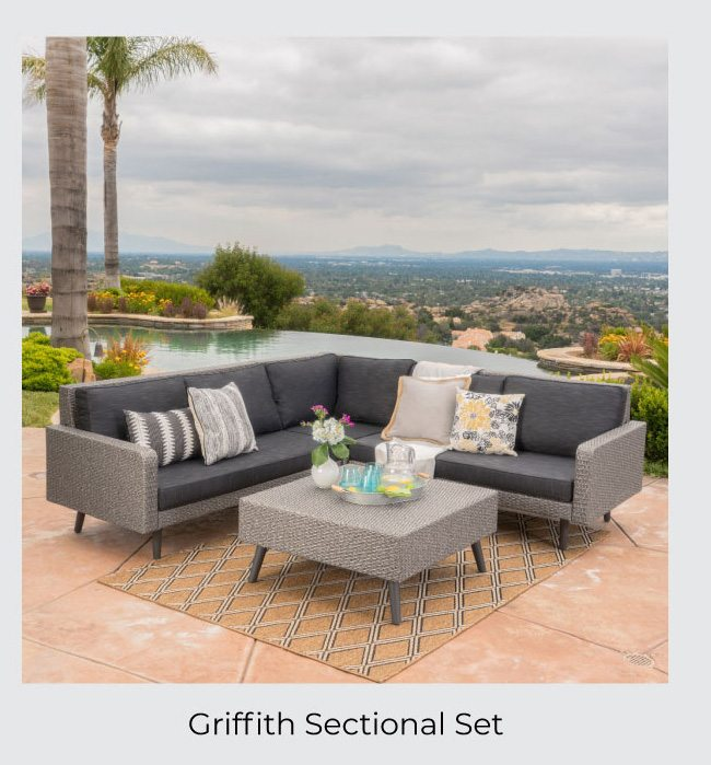 Griffith Sectional Set