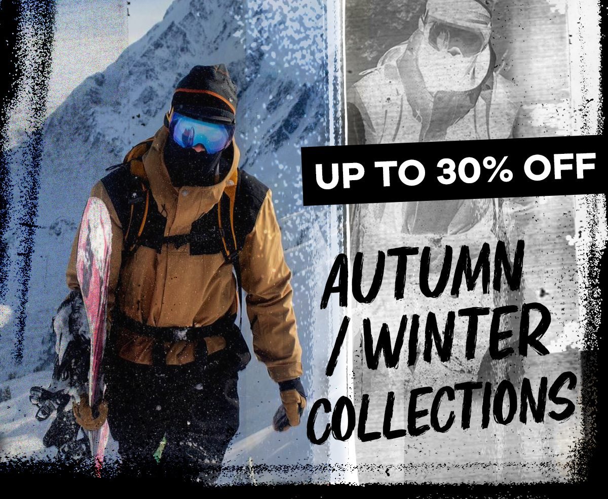 Up to 30% off Autumn/Winter collections