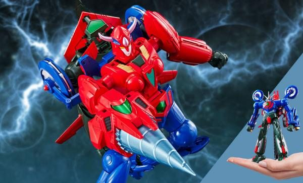 GX-96 Getter Robot Go Collectible Figure by Bandai