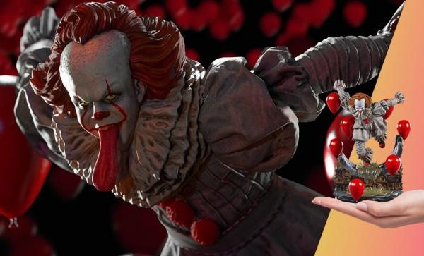 Pennywise Deluxe 1:10 Scale Statue by Iron Studios
