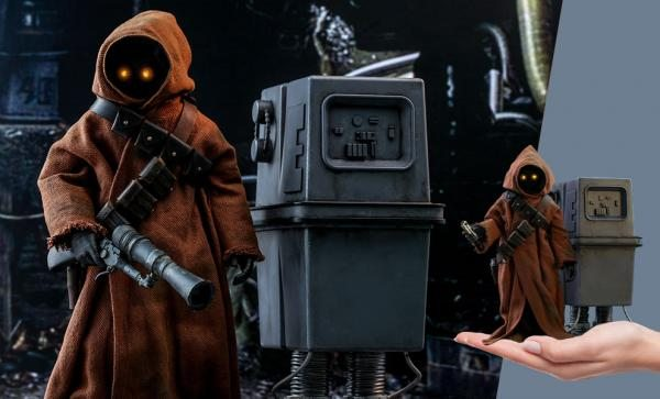 Jawa & EG-6 Power Droid Sixth Scale Figure Set by Hot Toys