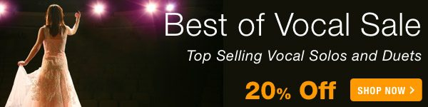 20% off Best Of Vocal Sale - Shop Now >