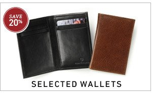 Save 20% on Selected Wallets >