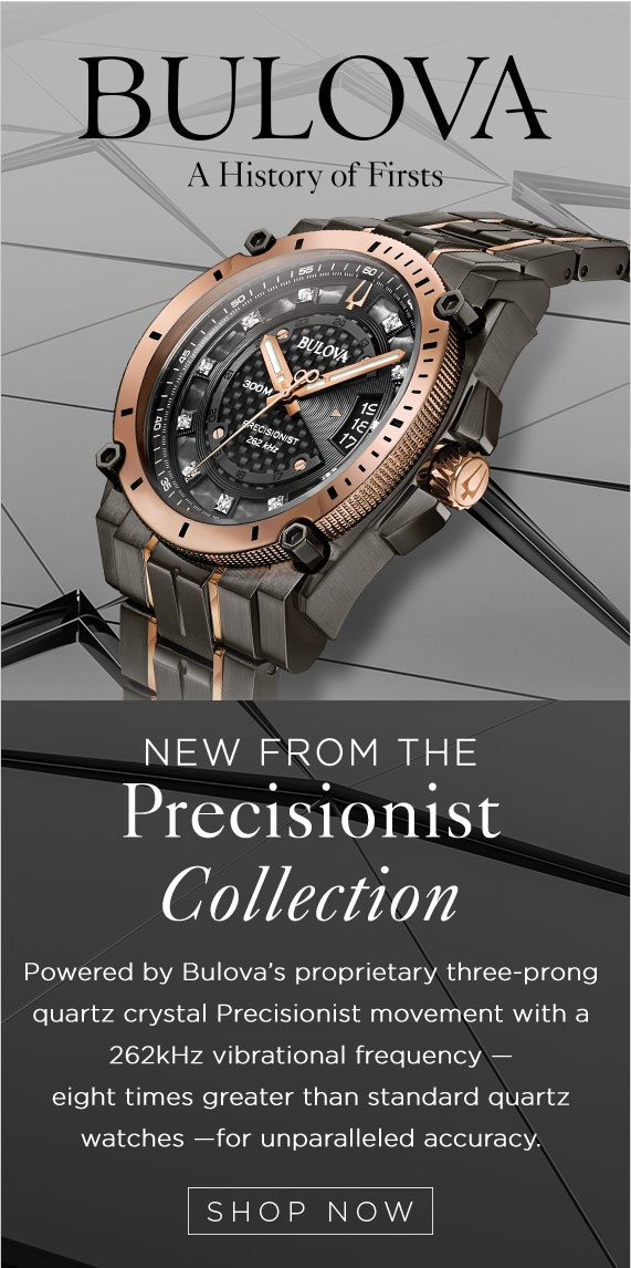 New Precisionist Designs From Bulova Available Now At Kay Jewelers Kay Email Archive