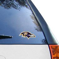 "WinCraft Baltimore Ravens Logo 4"" x 4"" Color Perfect Cut Decal"