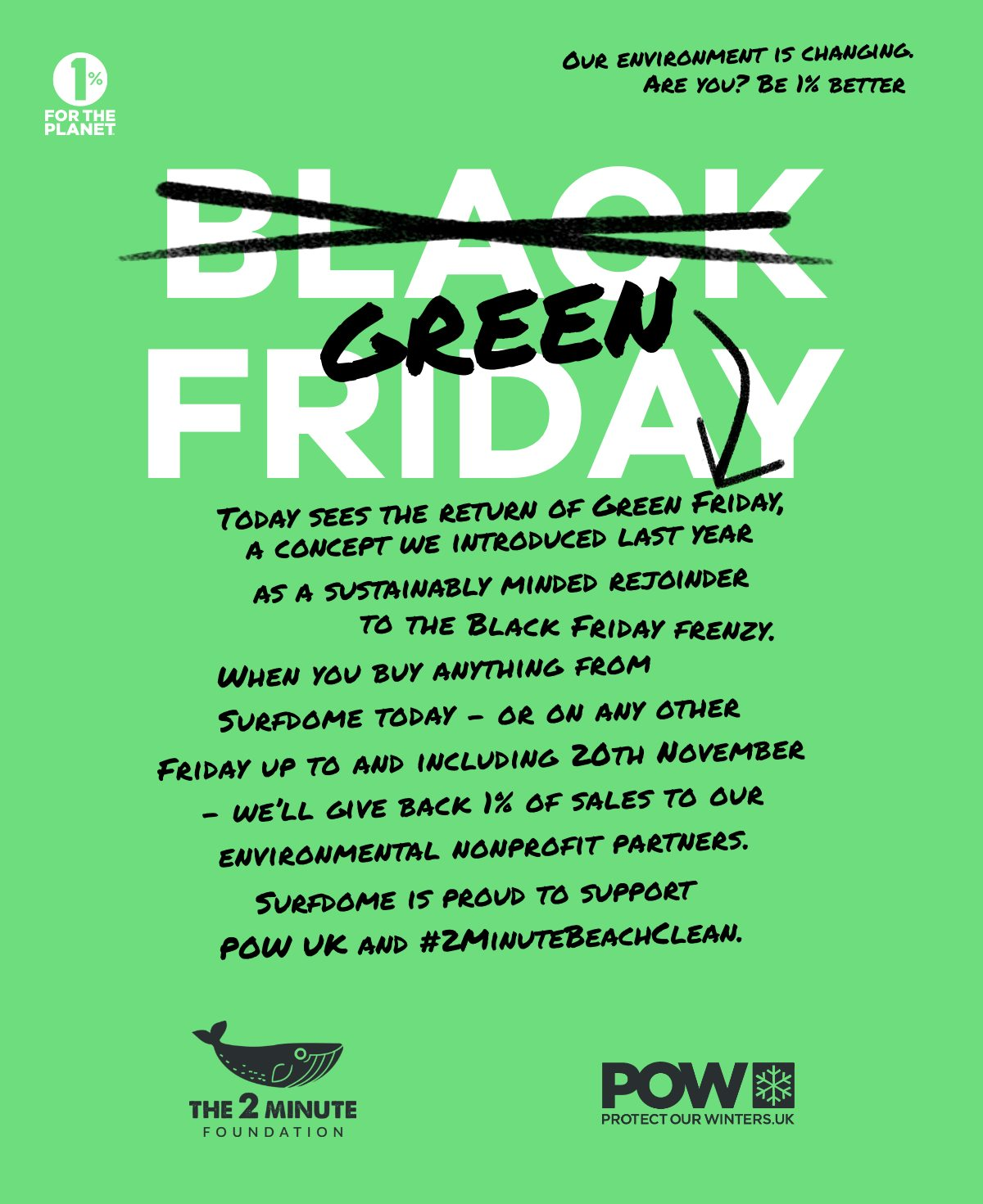 Green Friday | Find out more