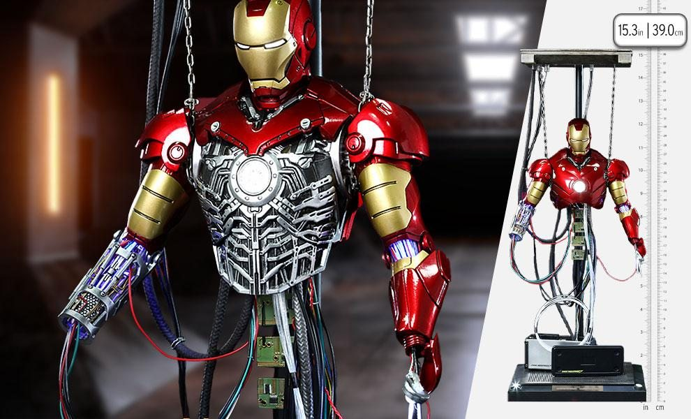 Iron Man Mark III (Construction Version) Sixth Scale Figure by Hot Toys