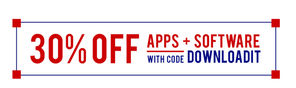 30% off Apps and Software | Shop Now