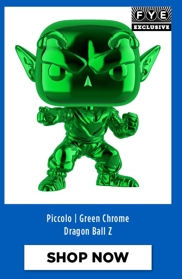 Dragon Ball Z - Piccolo - Exclusive Green Chrome