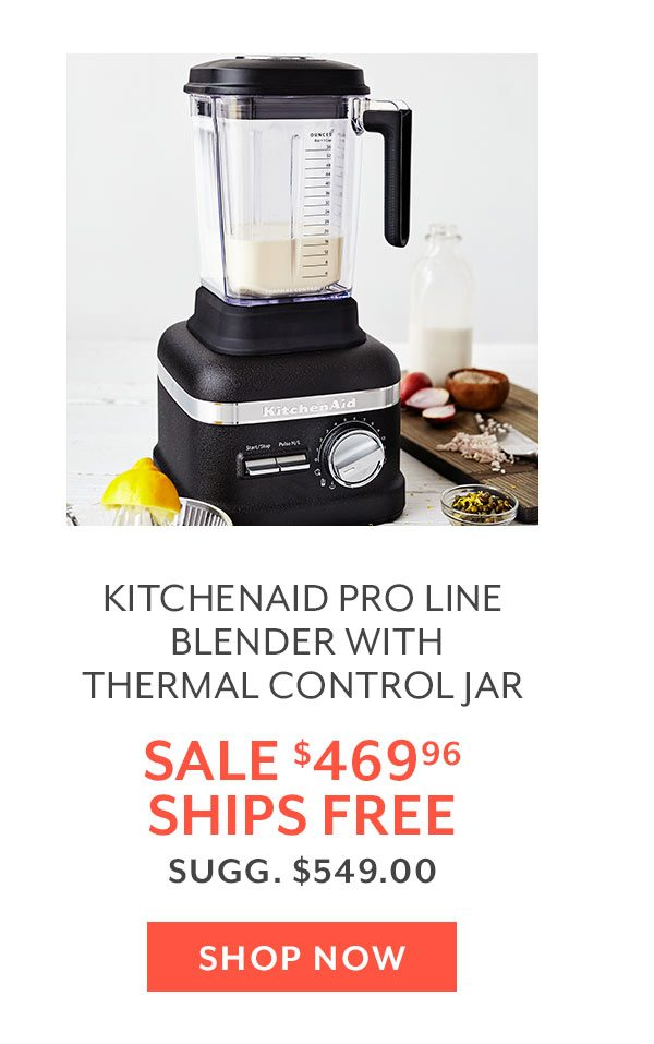 KitchenAid Pro Line Blender with Thermal Control Jar