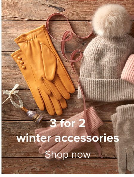 3 for 2 winter accessories