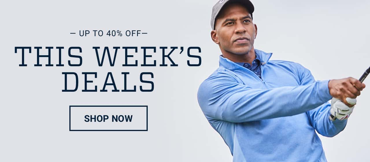 Up to 40% off this week's deals. Shop now.