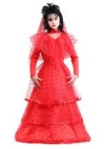 Girl's Gothic Red Wedding Dress Costume