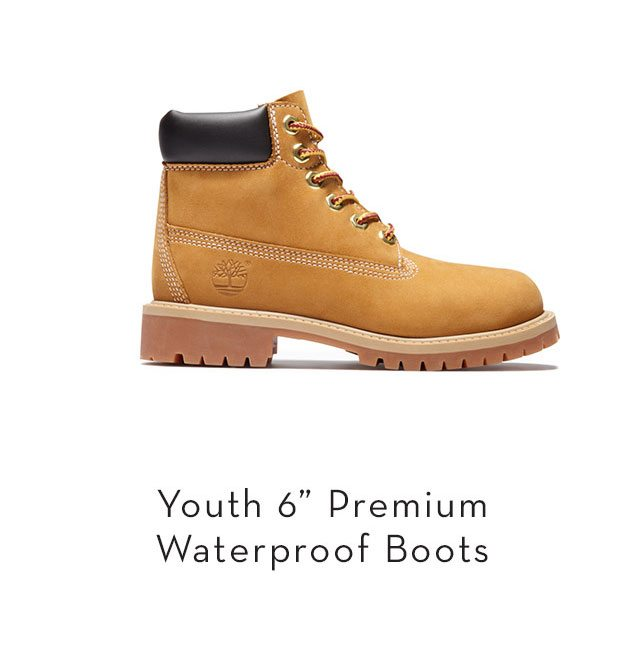 """Youth 6"""" Premium Waterproof Boots"""