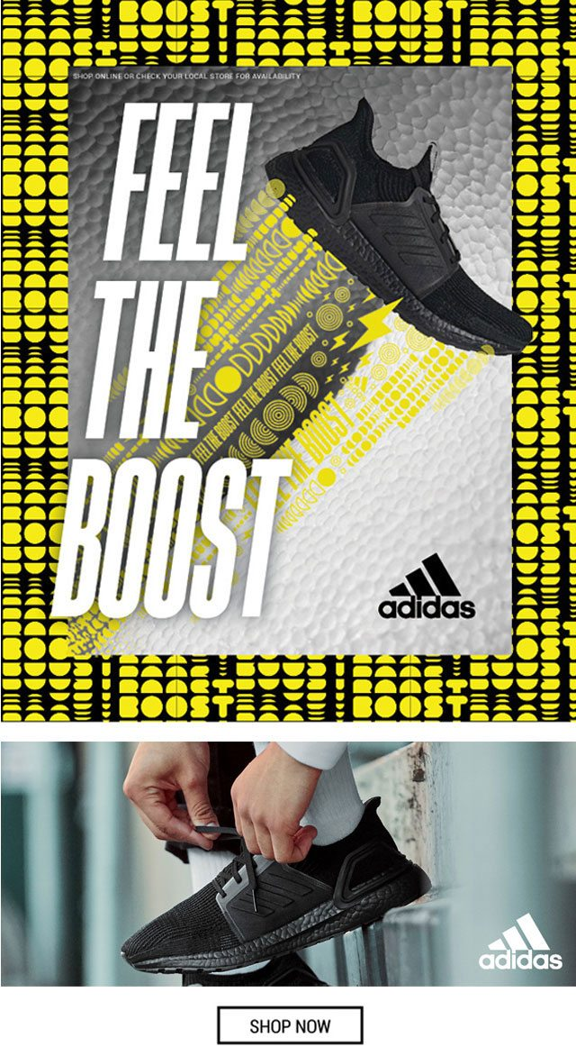 adidas feel the boost