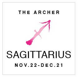 SHOP YOUR SAGITTARIUS HOROSCOPE