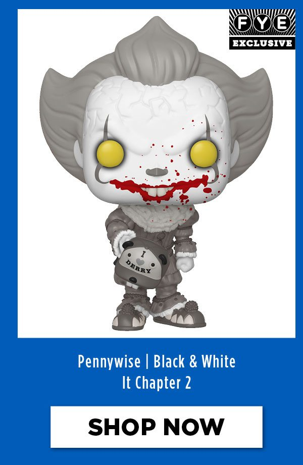 Black + White Pennywise