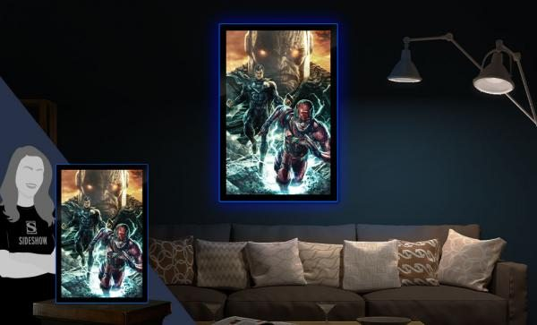 Zack Snyder's Justice League #59B LED Poster Sign by Brandlite