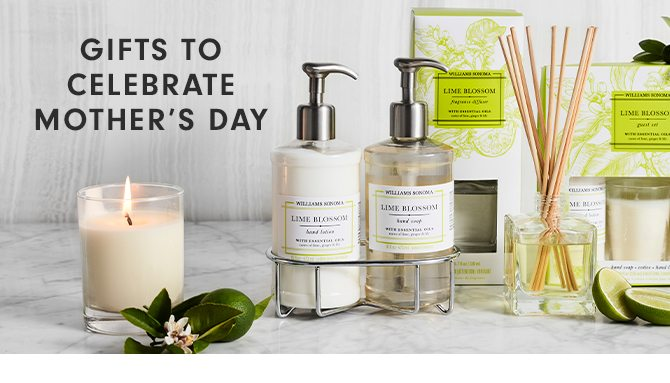 GIFTS TO CELEBRATE MOTHER'S DAY