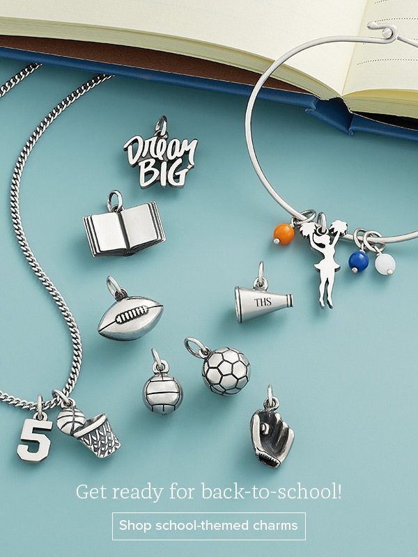 Get ready for back-to-school! Shop school-themed charms