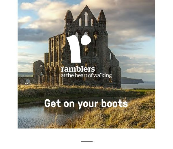 Ramblers Get your boots on