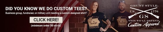 Need a custom tee? - Get 50 and they're yours!