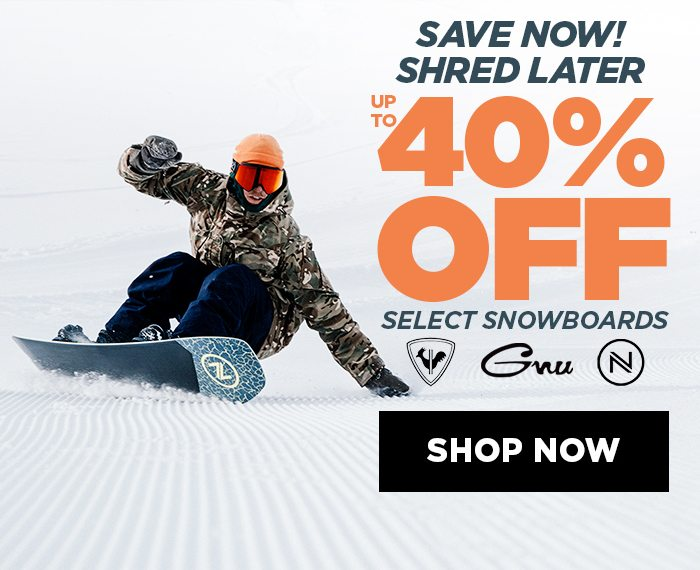 SAVE NOW, SHRED LATER - SHOP NOW, BANNER