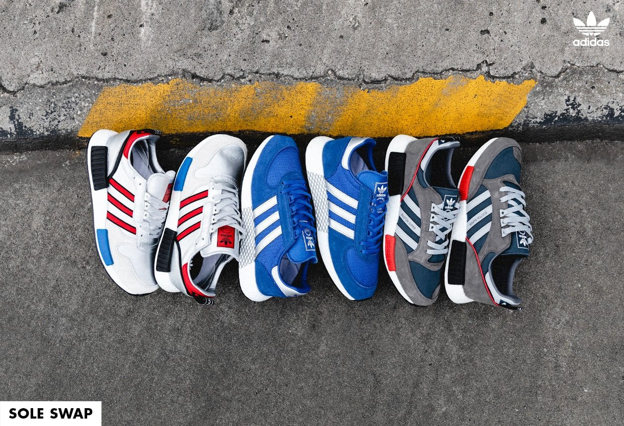 Hype Source   adidas Never Made, Vans