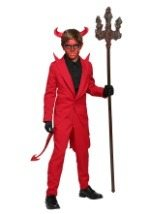Kids Red Devil Suit Costume