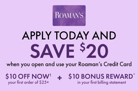 Apply Today and Save $20