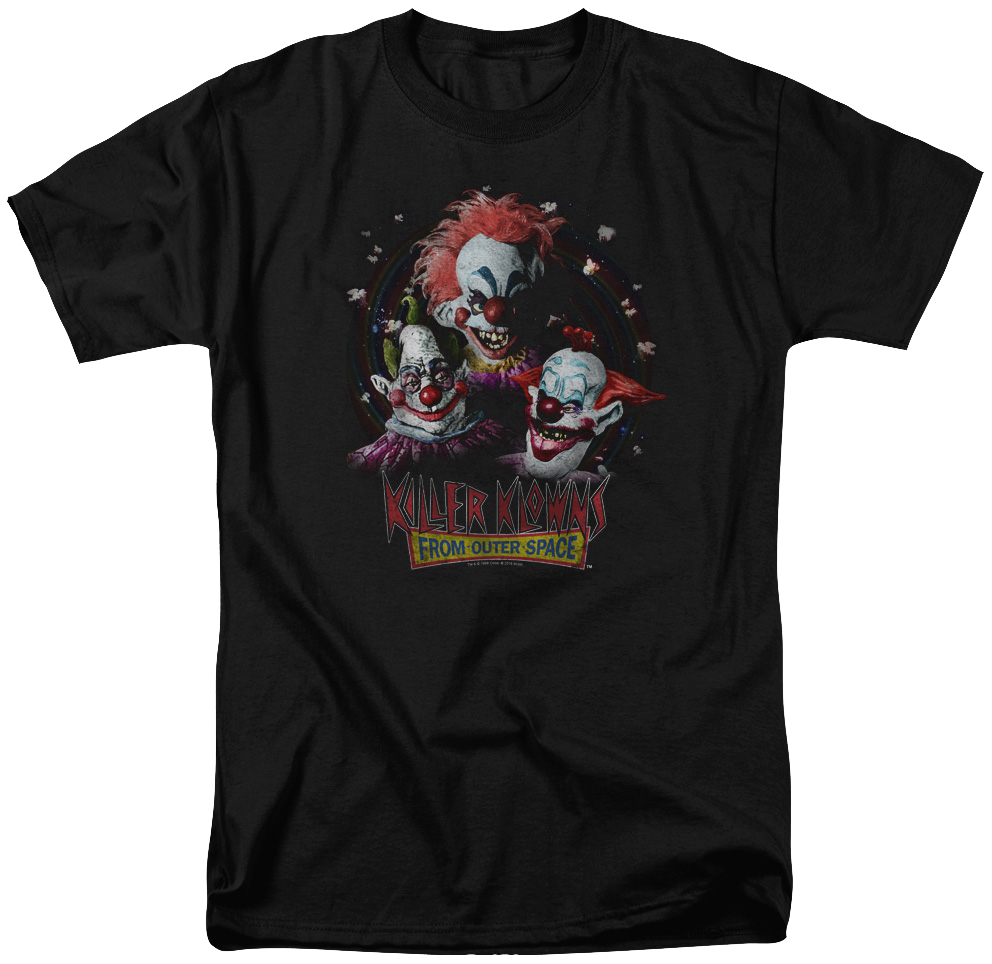 Popcorn Killer Klowns From Outer Space T-Shirt
