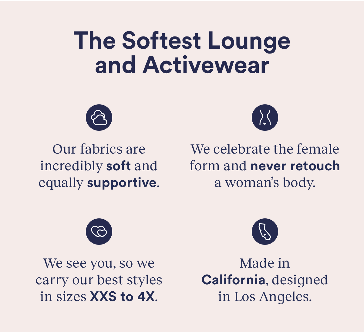 The Softest Lounge and Activewear